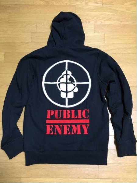 Public Enemy x Obey ジップパーカ M 美品 希少 レア RUN DMC N.W.A. BEASTIE BOYS HIPHOP 正規品 ビンテージ Supreme