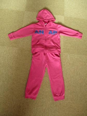 ☆249 ANAP Kid's アナップキッズ セットアップ スウェットパーカー ピンク