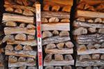 薪 2年乾燥コナラ (楢) 近県送料込み 200Kg 9,8