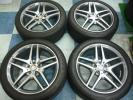 即納 車検可 AMG スタイリング4 ベンツ Sクラス W222 純正 正規品 美品 国産タイヤ W220 W221 W217 Cクラス Eクラス CLK CL CLS SLK SL SLC