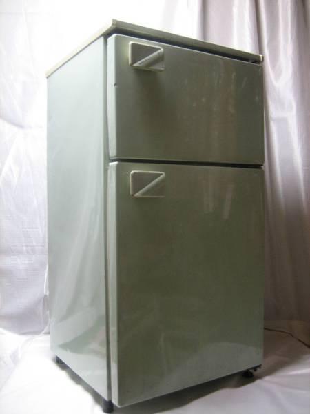 最近見かけない希少色!超希少☆ 松下電器産業 National ナショナル電気冷蔵庫 NR-M8A-GP ☆1988年1-6月製 29年使っても壊れない冷凍冷蔵庫!_画像1