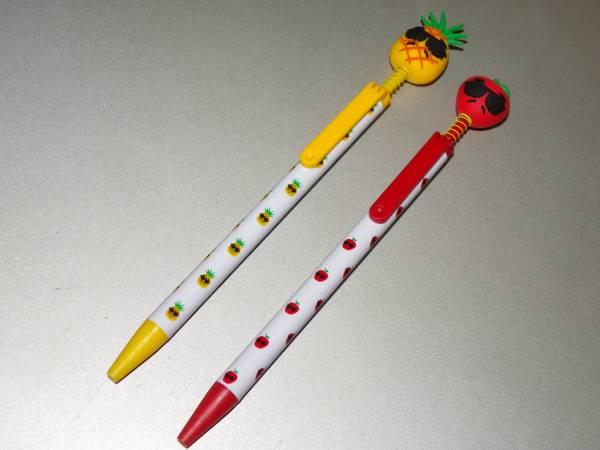 PPAP ピコ太郎 『ペンパイナッポーアッポーペン』 パイナップルペン/アップルペン ボールペン2種合わせて