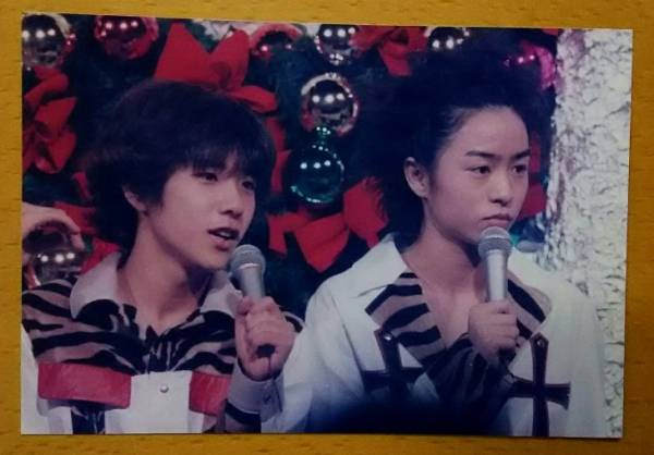 二宮&櫻井★1999 Mステ x'mas ★ファミクラ 写真 konica★ 嵐