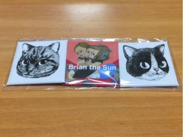 新品★Brian the Sun バッジセット ブライアンザサン シュレディンガーの猫 ライブ グッズ