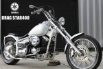 人気のホワイト!! ドラッグスター400 H13年式 VH01J チョッパーstyle ローロング フリスコ