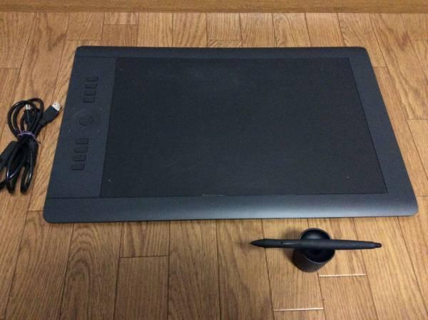 【wacomワコム】 intuos Pro / PTH-851 ペンタブ Lサイズ タッチ機能付き クラシックペン KP-300E-01X