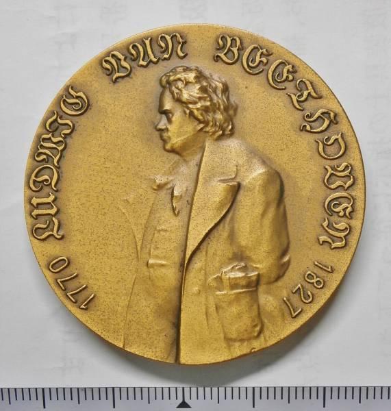 ★ベートーヴェン 生誕二百年記念メダル 1970年
