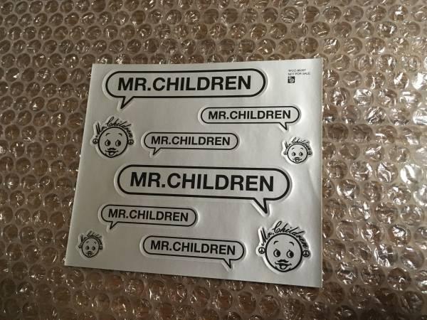 Mr.Children ステッカー シルバー ミスチルくん 未使用