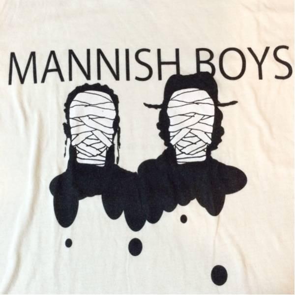 MANNISH BOYS Tシャツ 中村達也 斉藤和義 ツアーグッズ チケット ライブグッズの画像