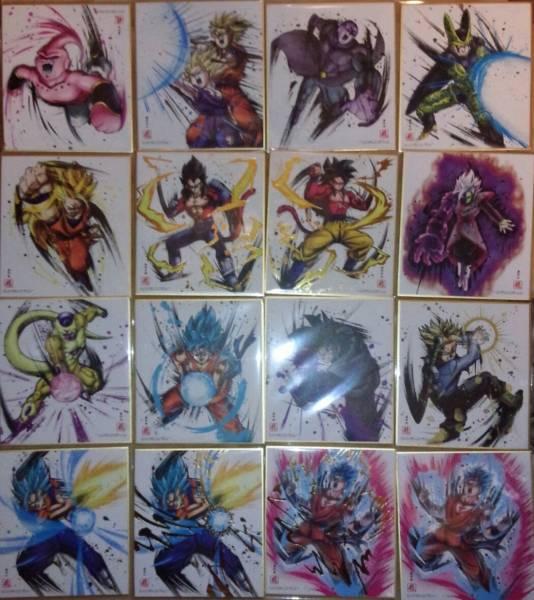 ドラゴンボール 色紙ART3 ノーマル14種+シークレット2種の全16種フルコンプ