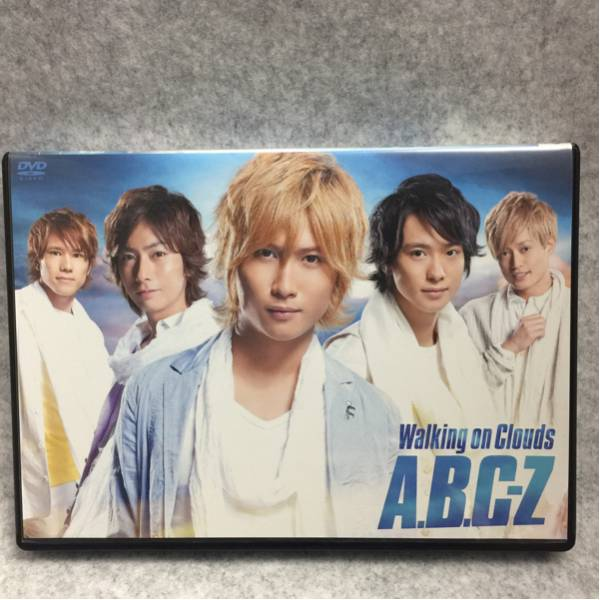 A.B.C-Z DVD Walking on Clouds 初回限定盤 CD付