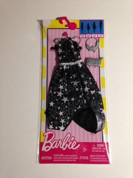 💟2017年バービーの着せ替え用洋服/Black Starry