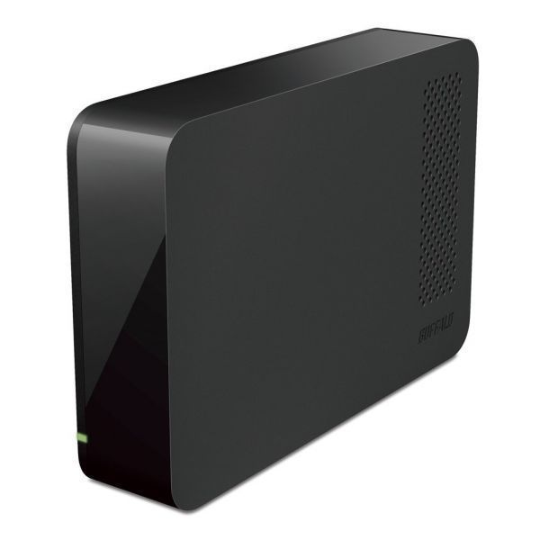 BUFFALO USB3.0用 外付けHDD 3TB ブラック HD-LC3.0U3-BKC