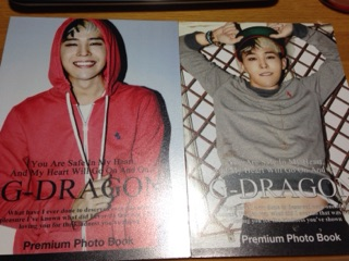 BIGBANG G-DRAGON フォトブック 写真集2冊セット