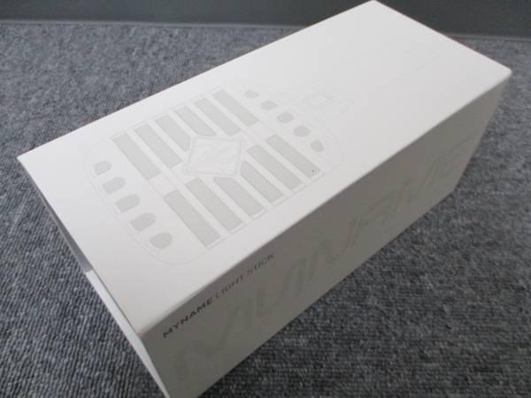 韓流 MYNAME 公式 ペンライト ライトスティック グッズ 動作品 ストラップ付 美品