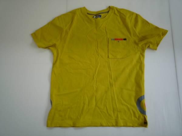 【良品!】■(株)ファイブフォクス/commeca■ 半袖Tシャツ L 黄_画像1