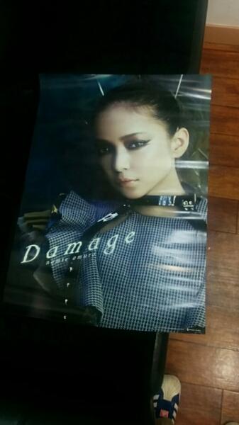 安室奈美恵 ポスター damage