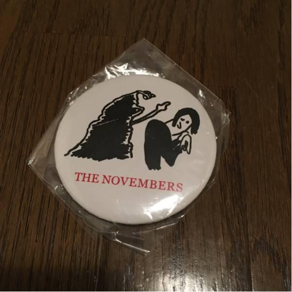 THE NOVEMBERS サイン入り缶バッジ