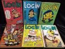 LOGIN 月刊ログイン 6冊セット 1985年 8月、1986年1月、3月、5月、6月、9月 パーソナルコンピューター情報誌