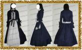 漆黒のシャルノス メアリ・クラリッサ・クリスティ風 ●コスプレ衣装