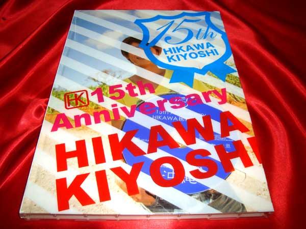 ★氷川きよし 15th Anniversary 写真集 DVD付き 15周年 コンサートグッズの画像