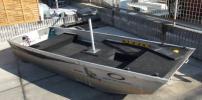 サウザー アルミ ジョン ボート JW-11 フルデッキ仕様 引き取り限定でお願いします。