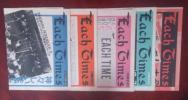 大滝詠一 『each times vol.1~5冊』 貴重!/山下達郎 大瀧詠一 ナイアガラ イーチタイムス 細野晴臣 松本隆
