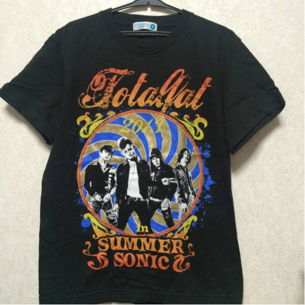 totalfat TOTALFAT 2013 サマーソニック サマソニ Tシャツ ライブグッズの画像