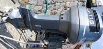 ヤマハ2スト115馬力船外機整備・陸上試運転済み