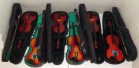 KI170214 Violin バイオリン 6挺まとめ 激安出品 PALATINO パラティーノ AXL-10 Bestler 等 分数楽器あり