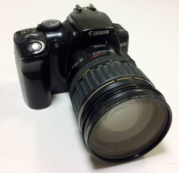★Canon キャノン EOS Kiss レンズEF28-135mm その他付属品付き 中古★