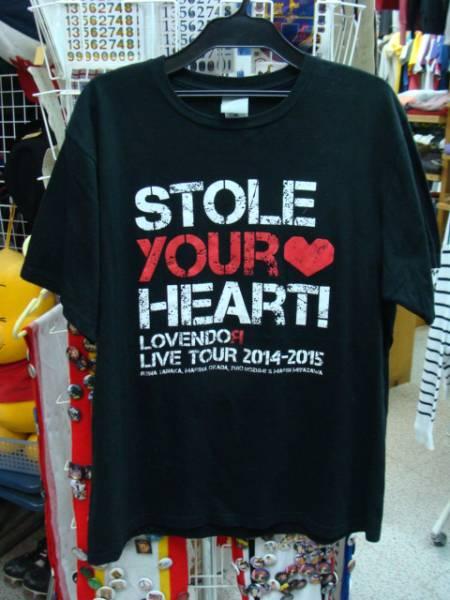 LoVendoЯ LIVE TOUR 2014-15 ツアーTシャツ 黒 XL 田中れいな 【メール便可能】