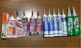【大工DIY】コーキング、カベコーク、コンクリートボンド、束職人13本セット