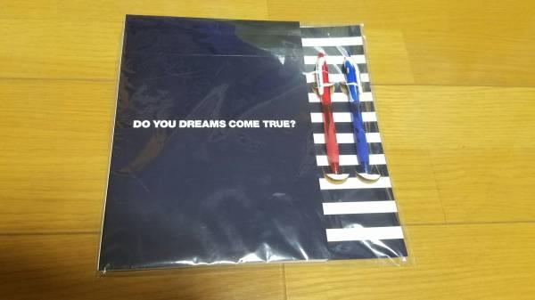 DREAMS COME TRUE ドリカム TRUE 2006 ドリしていますか? ノート&ペンセット 未使用品