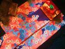 【香雪】名門逸品◆『藤娘きぬたや』160萬総突出し鹿の子絞り本振袖襦袢揃え◆超美品