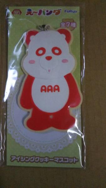 AAAえ~パンダアイシングクッキーマスコット 赤色