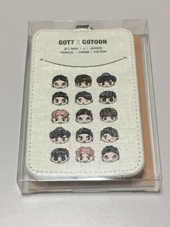 GOT7 ID カードケース ライブグッズの画像