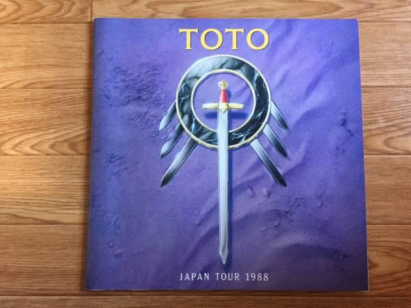 【パンフ】TOTO トト JAPAN TOUR 1988 日本公演