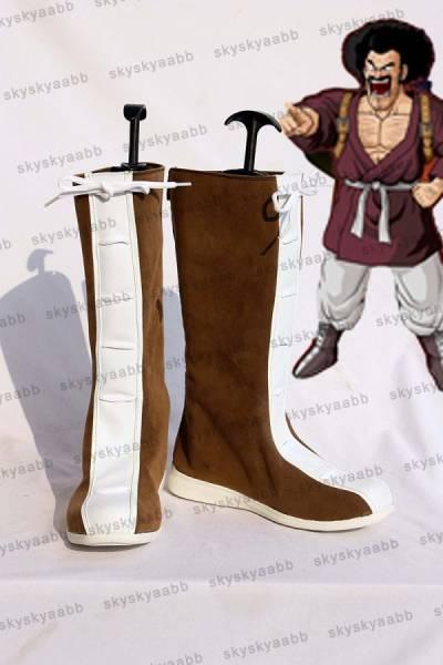 ドラゴンボール Dragon Ball ミスター・サタン風 コスプレ靴 ブーツ_画像1