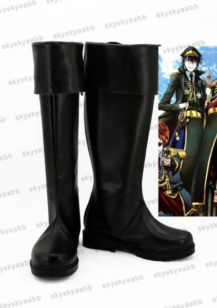 K RETURN OF KINGS 夜刀神狗朗風 やとがみくろう コスプレ靴 ブーツ_画像1