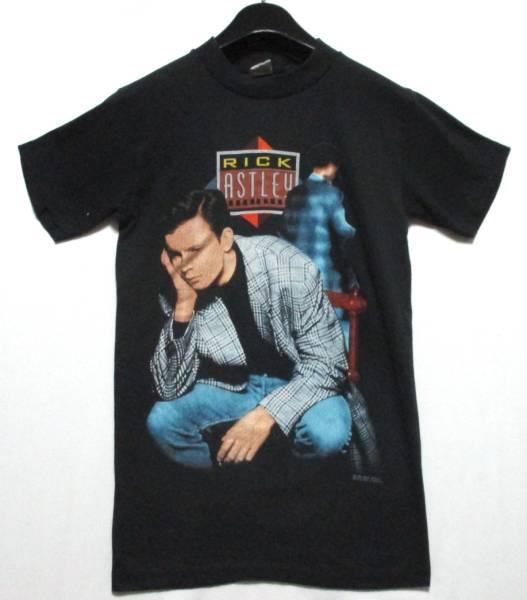 1989 RICK ASTLEY Tシャツ S TOUR ユーロビート バンドT ツアーT リックアストリー