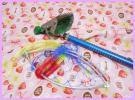 ★昌栄★イガイ、カラス貝、パイプ虫、かきとり網と網の柄420cm+タモ網(新品)セット★落とし込み、へチ釣り
