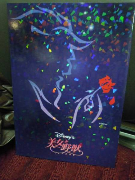 P3-5-2 劇団四季 美女と野獣 パンフ ミュージカル 2008