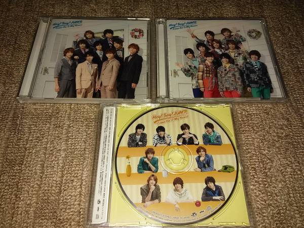 Hey!Say!JUMPCOMe.OnMyHouSe.CD.DVD美品