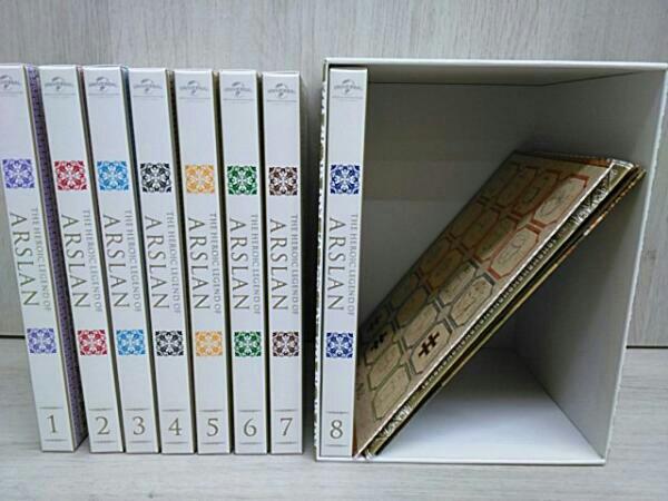 アルスラーン戦記 1巻~8巻(初回生産限定版) グッズの画像
