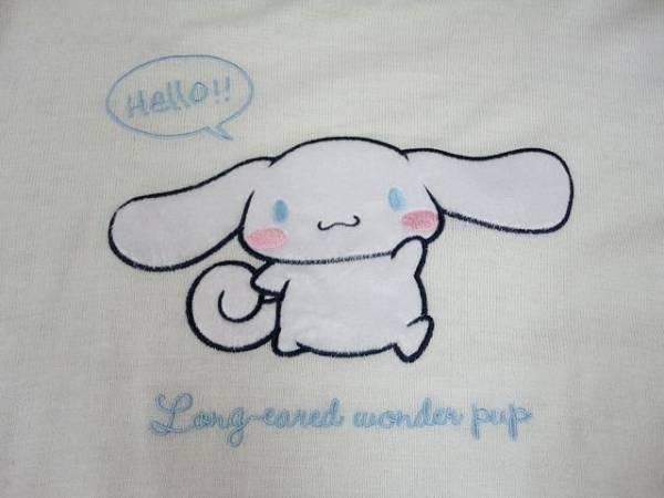 ◆シナモン シナモロール Sanrio◆ セーター ニット アクリル 長袖 刺繍 新品タグ付 白色 ◆Mサイズ_画像3