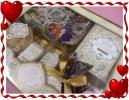 ◆ディズニー CRYSTAL SEASON◆バスギフト 8点セット(ポーチ スポンジ ソルト ジェル ボール フィズ パウダー ボックス) プリンセス◆