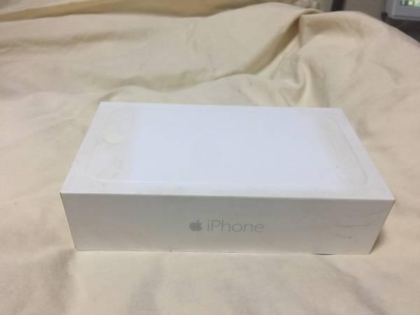 【中古のため格安出品】iPhone6 Plusの空箱 スマートフォン(スマホ)16GB_画像2