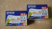 ★新品 エプソン プリンターインク 純正 IC6CL80L 2箱セット ★