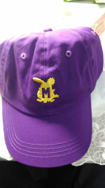 リトルグリーモンスター ラウンドワン リトグリ帽子第2弾 紫